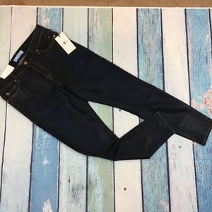 NEW 7 for all Mankind Coated Skinny Ankle Jeans 30